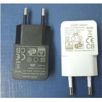 Buy cheap 5V1.2A USB Charger /AC Adapters for mobile phone camera from wholesalers