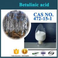 Buy cheap Factory Supply Best Quality Antioxidant birch bark extract CAS NO.472-15-1 Betulinic acid from wholesalers