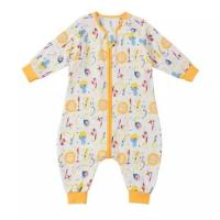 Buy cheap Dyed Toddler Sleeping Sack Summer Double Layer Seersucker 40x40 Mesh from wholesalers
