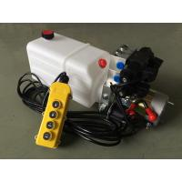 Buy cheap G3/8 Oil Port Mini Hydraulic Power Packs , DC 24v Hydraulic Power Pack With 8L Plastic Oil Tank from wholesalers