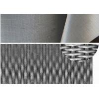 Buy cheap 500*3500 mesh 1 micron dutch weave 316 stainless steel filter mesh from wholesalers