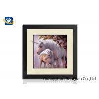 Buy cheap 40x40cm Customised Decorative Pictures 3D Lenticular Printing Service PS Frame For Gift from wholesalers