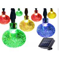 Buy cheap 30 LED Ball Flashing Lights / Solar Christmas Festival String Lights from wholesalers