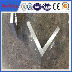 Buy cheap aluminium profile corner joint / aluminum corner profile / aluminium rectangular extrusion product