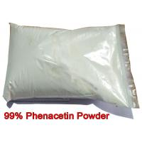 China Phenacetin Powder Pharmaceutical Intermediate CAS 62-44-2 Acetophenetidin For Pain Relieving on sale