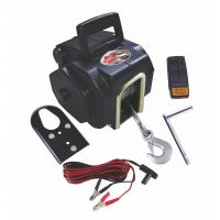 Buy cheap 3500 LB Line pulling Portable Marine Electric Winch / Winches (12V DC) With Remote from wholesalers