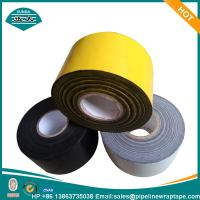 Buy cheap Yellow Industrial Tapes / Underground Pipe Wrapping Tape Butyl Rubber from wholesalers
