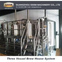 Buy cheap Stainless Steel Pub Brewery Equipment  Electric Heated Brewhouse With Two Vessels from wholesalers