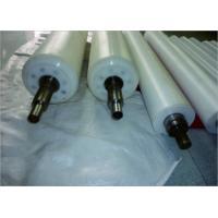 UHMW-PE Filter Machine Roller Low Friction Waterproof Plastic Conveyor Rollers