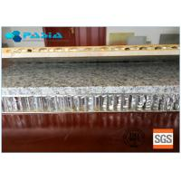 Buy cheap 900x900 Sized Marble Stone Aluminum Honeycomb Sandwich Panels Flat 20mm Thickness from wholesalers