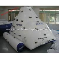Buy cheap Adults Inflatable Floating Iceberg AVIVA Inflatable Rock Climbing Wall Commercial Use from wholesalers
