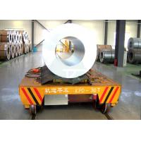 Buy cheap Steel Factory Used Material Handling Equipment Automation Rail Battery Coil Transfer Cars Trailers For Sale from wholesalers