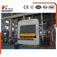 Buy cheap Hydraulic Plywood Lamination Machine / 25KW Mdf Hot Press For Wood from wholesalers
