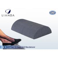 Buy cheap Half Cylinder Memory Foam Cushion , Black Foam Foot Rest Cushion For Office / Home from wholesalers