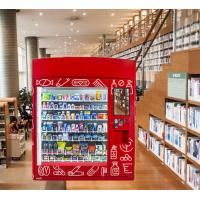 Buy cheap 24 Hours Milk Soda Vending Machine For Snack Drink Coin Operated Drink Machine from wholesalers