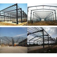 Buy cheap Durable Prefab Metal Sheds , Stoving Varnish Steel Structure Prefabricated House from wholesalers