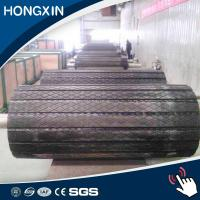 Buy cheap 15 mm Thickness High Quality Belt Elevator Pulley Slide Rubber Lagging from wholesalers