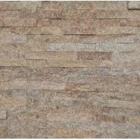 Buy cheap yellow Natural stone cultured stone veneers stacked stone glued wall cladding tiles panels from wholesalers