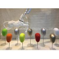 Buy cheap Multi Color Design Fiberglass Mannequin Torso Fiberglass Head Mannequin from wholesalers