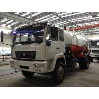 Buy cheap Sinotruck SWZ  4x2 226HP 14000 Liters Sewage Suction Truck / Vacuum Tanker from wholesalers