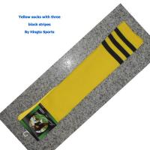 Buy cheap 10% Spandex knee high tube socks Custom Sports Socks with Jacquard Logo from wholesalers