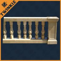 Buy cheap Ornaments stone garden green granite marble balustrade for outdoor decking from wholesalers