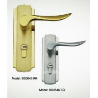 Buy cheap antiqu bathroom lock Cylinder Lock, hotel bathroom door lock, EU mortise handle lock from wholesalers