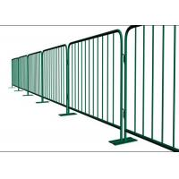 Buy cheap Heavy Duty Portable Crowd Barriers / Crowd Control Gates For Event Security product