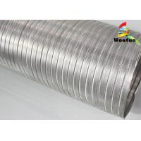 Buy cheap Telescopic Silver Aluminum Air Duct 10 Inch Round For Ventilation System from wholesalers