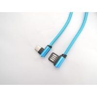 Buy cheap Double Sided Plug Right Angle 480Mpbs USB Data Transfer Cable from wholesalers