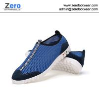 Buy cheap 2014 summer new boys nude shoes boys casual shoes A467 men netting fabric shoes from wholesalers