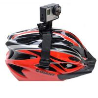 Buy cheap Gopro GP04 accessories vented helmet strap action camera bicycle helmet straps Mount Adapter for sj4000 xiaomi yi helmet from wholesalers