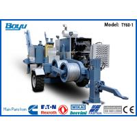 Buy cheap 60KN Transmission Line Stringing Equipment Hydraulic 6T Conductor Laying Puller from wholesalers