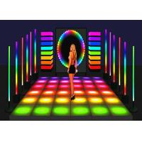 Buy cheap Aluminum SMD P7.2 Rental Illuminated Dance Floor LED Dancing Floor from wholesalers