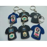 Buy cheap Custom 2d/3d Football Team Sportswear Shape Soft PVC Keychain For Euro 2016 Official Broadcast Gift product