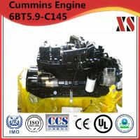 Buy cheap Cummins construction diesel engine 6BT5.9-C145 from wholesalers