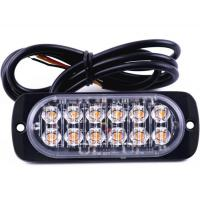 Buy cheap Universal Super Bright Car Truck Warning Light Caution Emergency strobe light 12-24V 36W from wholesalers