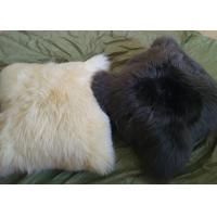 China Home Car Decorative Lambswool Seat Cushion Warm With Dyed Merino Sheared Wool on sale