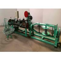 Buy cheap 2.0mm Single Barbed Razor Wire Making Machine , Galvanized Razor Barbed Wire Machine from wholesalers