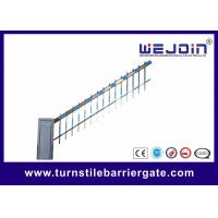 Buy cheap Traffic Commerrcial Car Barrier Gate , Vehicle Barrier Gates With Fence Boom from wholesalers