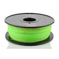 Buy cheap Green 3D Printer Makerbot Filament 1.75mm 3mm ABS For 3D Printing , 1kg / Spool product