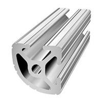 China 6063 Structural Aluminum Extrusions Curved T Slot Profile for 3D Printer on sale