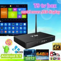 Buy cheap T9 Set Top Box S812 OTT TV Box 3D H.265 KODI VIDEO WIFI Bluetooth from wholesalers