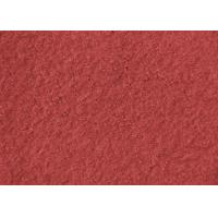 Buy cheap Plain Coloured Wine Red Boiled Wool Fabric Australia 148CM Width from wholesalers