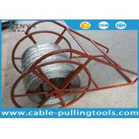 China High Strength 9mm 12 Strands Non Rotating Galvanized Steel Wire Rope on sale