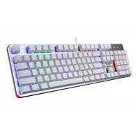 Blue Switch Mechanical Keyboard Rainbow , RGB Gaming Keyboard Backlit