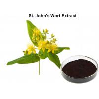 Buy cheap Herbal Extraction Plant , St John'S Wort Standardized Extract 0.3% Hypericin For Eliminating Stress from wholesalers