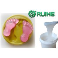 Buy cheap Pourable Transparent Liquid Silicone Mold Making Rubber For PU Resin Casting Precision from wholesalers