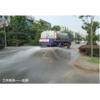 Buy cheap 12cbm Water Tank Truck / Water Spray Truck 170 Hp Power With 3 Person Cab from wholesalers