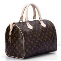 Buy cheap Canvas LV Monogram Handbags Speedy 30 with Shinning Golden Brass Hardware for Lady from wholesalers